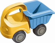 Haba dump truck - Haba dump truck – Transport and unload things with this dump truck by Haba.