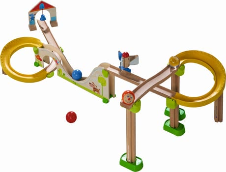 "Haba ball track Kullerbüg ""Big Dipper Track"" - Haba ball track Kullerbüg ""Big Dipper Track – An exciting basis pack with a lot of great effects."