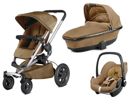 Quinny Buzz Xtra inkl. Kinderwagenaufsatz + Maxi Cosi Pebble Toffee Crush 2016 - large image