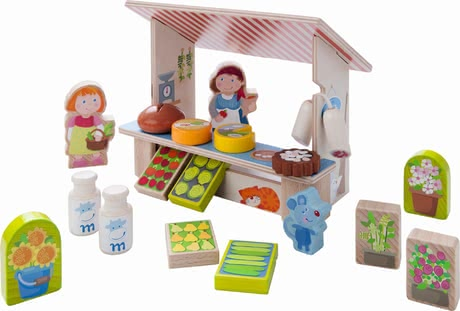 Haba play world Mary's market stand 2017 - large image