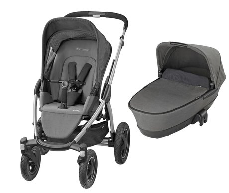 Maxi-Cosi Mura Plus 4 incl. Dreamin carrycot attachment Concrete Grey 2016 - large image