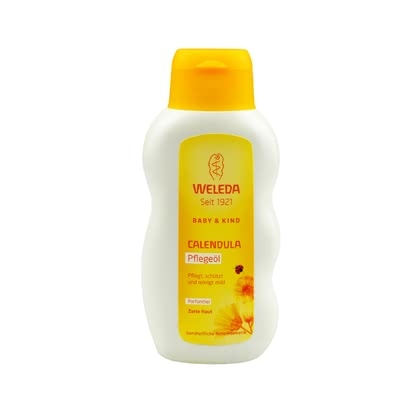 Weleda Calendula maintenance oil unscented, 200ml 2017 - large image