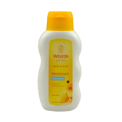 Weleda Calendula bathing cream, 200ml - Weleda Calendula bathing cream, 200ml – This article is perfect for a relaxed bath and cleans and is mild to your baby's skin.