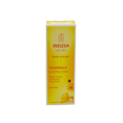 Weleda Calendula facial cream, 50ml - Weleda Calendula facial cream, 50ml – This cream gives especially much moisture to your baby's skin.