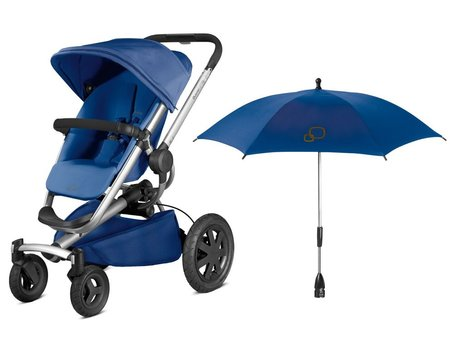 Quinny Buzz Xtra incl. parasol Blue Base 2016 - large image