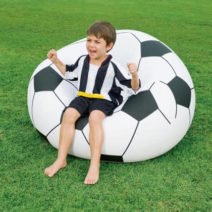 Foot ball chair, inflatable 2016 - large image