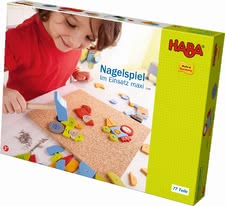 "Haba pin game ""In action maxi"" - Haba pin game ""In action maxi"" – A game for nimble fingers."