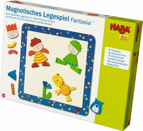 Haba Fantasia – magnetic sorting game - Haba Fantasia – magnetic sorting game – Transform great works with colourful pieces of a magnetic sorting game.