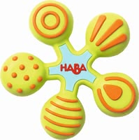 Haba clutching toy star - Haba clutching toy star – This toy invited you to an exciting discovery tour.