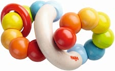 "Haba clutching toy ""Color Whorl"" - Haba clutching toy ""Color Whorl"" – This toy will brighten your child's eyes."