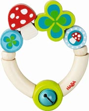 "Haba grasping toy ""Lucky charm"" - Haba grasping toy ""Lucky charm"" – A great gift for birth or christening."