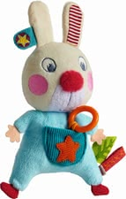 "Haba clutching toy ""Bunny Flip"" - Haba clutching toy ""Bunny Flip"" – This toy accompanies the littlest ones from the very beginning."