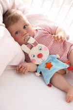 Haba cuddly bunny Flip - Haba cuddly bunny Flip – Cuddly soft and a great aid for getting to sleep.