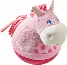 Haba roly-poly horse - Haba roly-poly horse – Sounds happy and nudging when pushing it.