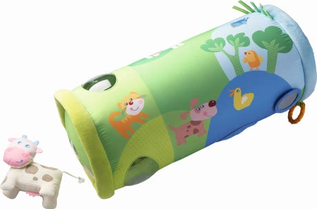 Haba crawling roller farm - Haba crawling roller farm – An exciting toy for little discoverers.