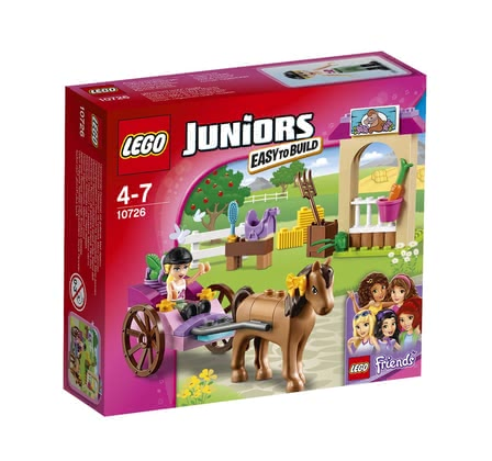LEGO Juniors Stephanie's horse-drawn carriage 2016 - large image