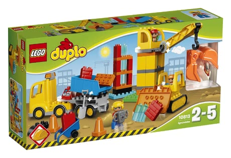 LEGO Duplo big construction site 2016 - large image