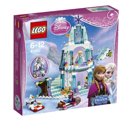 LEGO Disney Princess 乐高玩具迪斯尼公主系列 - 艾莎的闪亮冰雪城堡 2016 - 大圖像