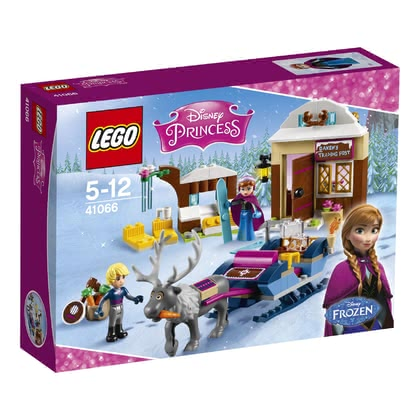 LEGO Disney Princess Anna's and Kristoff's sleigh adventure 2016 - large image