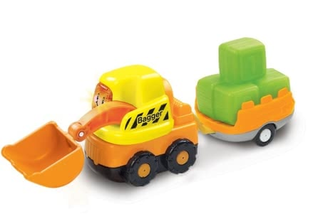Vtech digger with trailer -