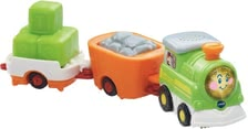 Vtech trains – freight train - Two wagons will convince your little one to have fun with this set.
