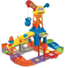 Vtech construction site - The construction site has a big crane and other highlights for little builders.
