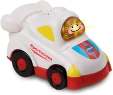 Vtech sports car - Ready, set , go …the sports car by Vtech will cross the finish line in first place.