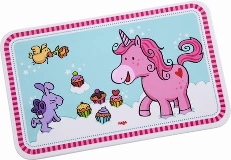 Haba breakfast board unicorn glitterluck - Dinner will taste the best with this board by Haba.