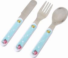 Haba cutlery unicorn glitterluck - Your little ones will definitely enjoy their meal with this cutlery by Haba.