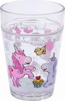 Haba glittery tumbler unicorn glitterluck - Drinks are even better with this cup by Haba.