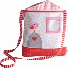 Haba kids bag house -