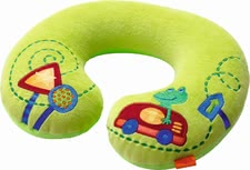 Haba seatbelt pad Zipping Froh - Supports the neck and a good mood.