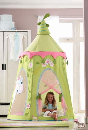 Haba play tent fairy garden 2017 - large image
