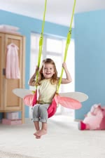 Haba swing little elf - This swing will be a lot of fun for your little one.