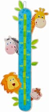 Haba check your height zoo - This height meter shows how your child grows.