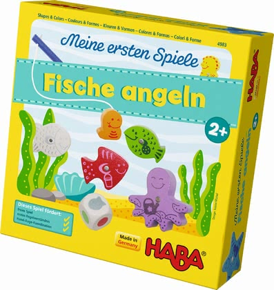 Haba My very first games – Here, Fishy, Fishy!! - Going fishing can be a lot of fun to the littlest ones with this game.