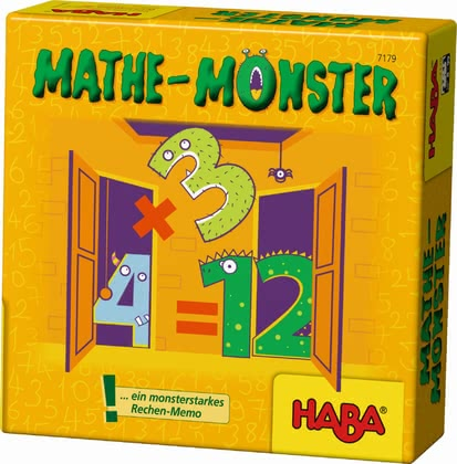 Haba les monsters des maths 2017 - Image de grande taille