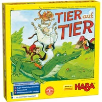 Haba animal upon animal – here we turn! - A great game to get your child learn patience. Suitable for the age at 5.