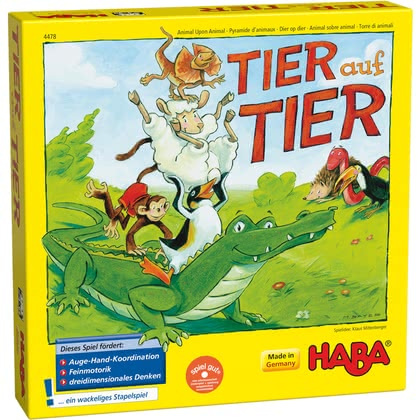 Haba animal upon animal – here we turn! -