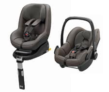 Maxi-Cosi baby car seats 0-13kg with Isofix