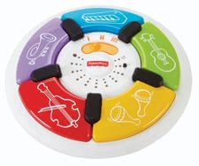 Piano luces de color Fisher-Price - El piano luces de color de Fisher-Price gratifica su niño con luces coloridos y ruidos.