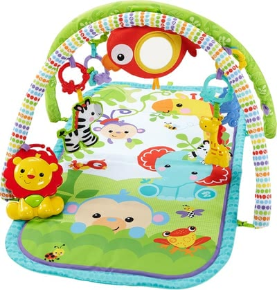 Fisher-Price Rainforest-Friends 3in1 blanket 2016 - large image