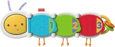 Fisher-Price baby's toy caterpillar - The cute caterpillar is full of surprises.