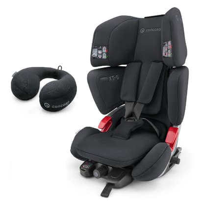 Concord car seat VARIO XT-5 - This car seat offers childrend aged 9 months to 12 years a safe and comfortable place to sit in the car with its multi-functional elements.