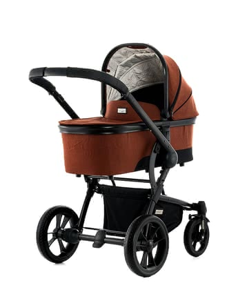 Moon multi-functional stroller Cool with aluminium carrycot - * The light and agile Moon Cool with aluminium carrycot is the city racer among the multi-functional strollers.
