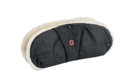 Moon footmuff with fur insert - A useful hand muff with fur inserts for your Moon stroller.