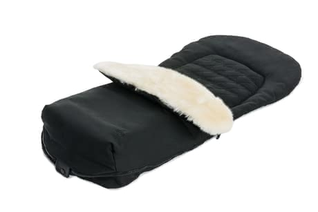 Moon footmuff with fur insert -
