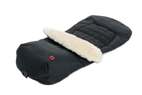 Moon footmuff with fur insert - The footmuff with fur insert by Moon will warm your little one during the cold season.