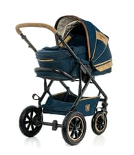 Moon multi-functional stroller Lusso Jeans Special with carrying bag -