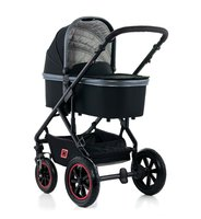 Moon multi-functional stroller Nuova Special with aluminium carrycot -